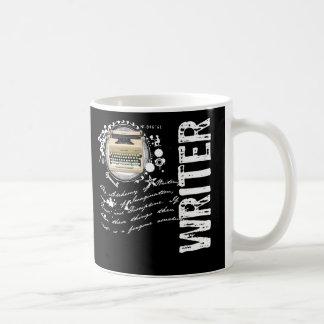 Alquimia del escritor taza básica blanca