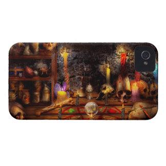 Alquimia - que vieja magia negra iPhone 4 carcasas