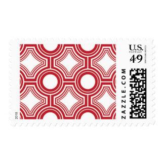 Alquimia - tejas del techo, sellos rojos