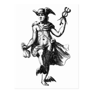 Alquimista Hermes Trismegistus Postal