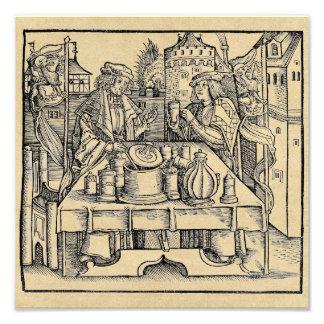 Alquimista real en el castillo fotografía