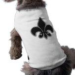 Alquitrán con el cartabón camiseta de mascota