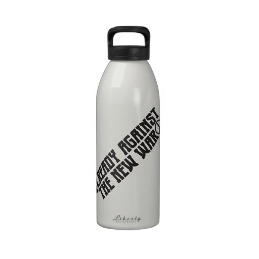 Already Against the New War Reusable Water Bottles