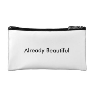 Already Beautiful - Make-up Bag Cosmetic Bags