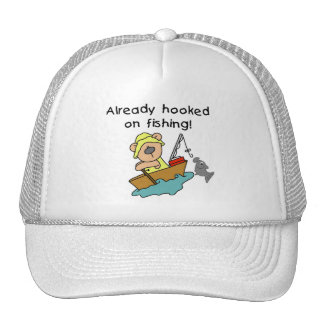 Already Hooked on Fishing Tshirts and Gifts Trucker Hat