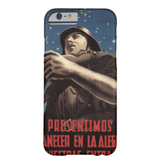 Already we sense the morning_Propaganda Poster Barely There iPhone 6 Case