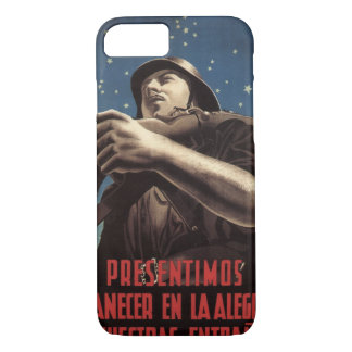 Already we sense the morning_Propaganda Poster iPhone 7 Case