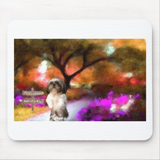 alrededor de bend_Painting.jpg Mouse Pad