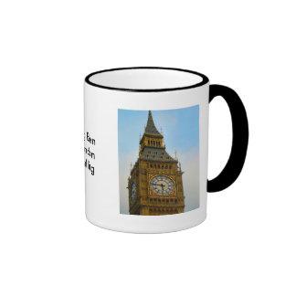 Alrededor de Gran Bretaña, Big Ben, torre de Taza De Dos Colores