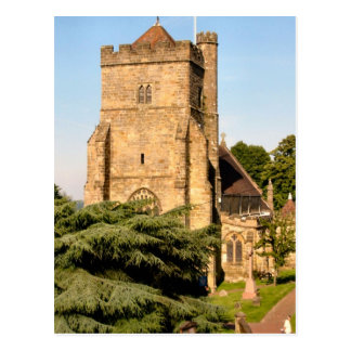 Alrededor de Gran Bretaña,    iglesia parroquial Postales