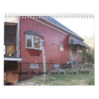 Alrededor de la granja y en la ciudad 2009 calendarios