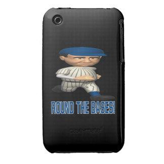 Alrededor de las bases Case-Mate iPhone 3 protector