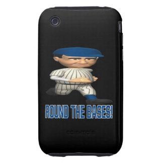 Alrededor de las bases tough iPhone 3 fundas