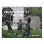 ALREDEDOR DE PHOENIX ARIZONA CALENDARIOS DE PARED