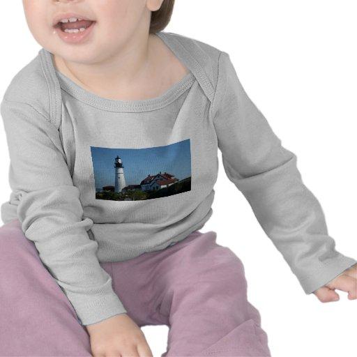 Alrededor de Portland Maine Camiseta
