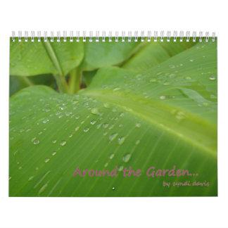 Alrededor del calendario del jardín