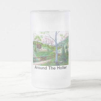 Alrededor del Holler Taza De Cristal