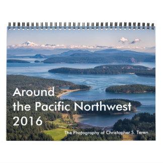 Alrededor del noroeste pacífico - 2016 calendarios de pared