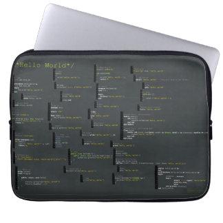 Alrededor hola del bolso del ordenador portátil de fundas portátiles