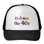 Alrededor los años 40 gorras de camionero