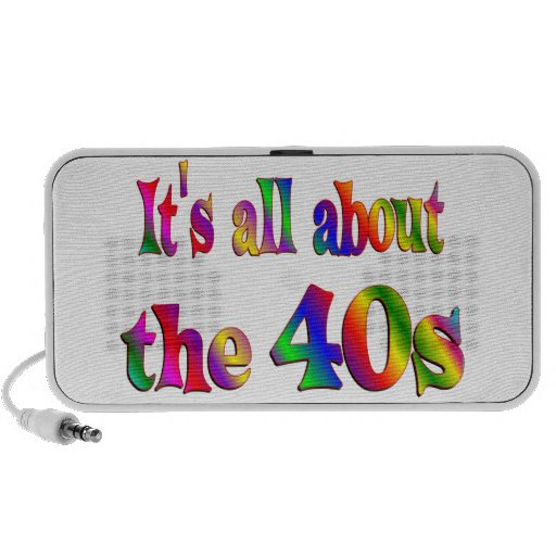 Alrededor los años 40 mini altavoz