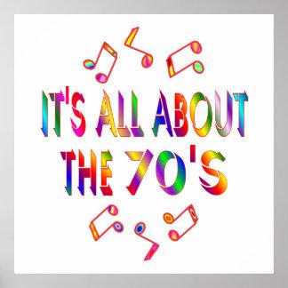 Alrededor los años 70 posters