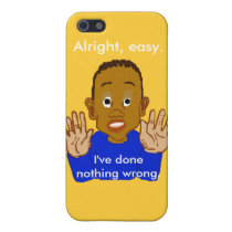 Alright Easy I've Done Nothing Wrong Template iPhone SE/5/5s Case