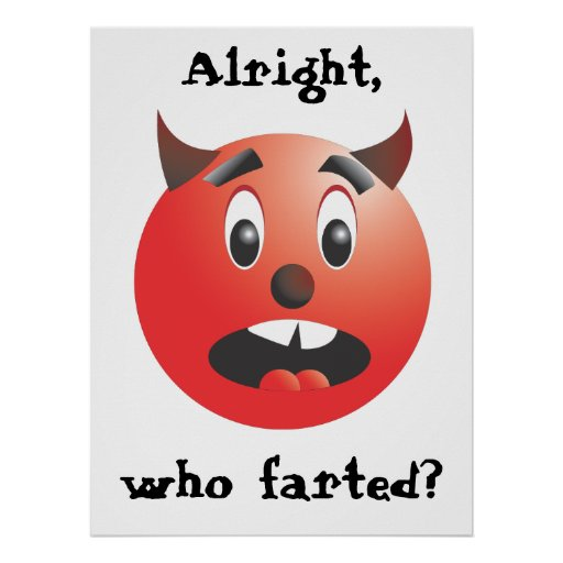 Alright, who farted? poster