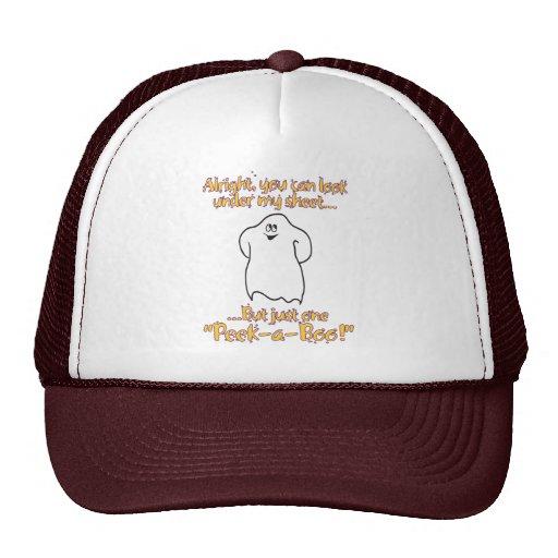 Alright you can look under my sheet – Peek-a-Boo Trucker Hat