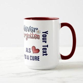 ALS Add Your Text Ringer Mug