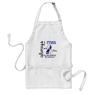 ALS Always I Miss My Boyfriend 3 Adult Apron