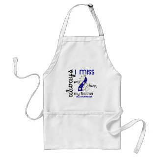 ALS Always I Miss My Brother 3 Adult Apron