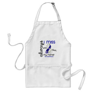 ALS Always I Miss My Father 3 Adult Apron
