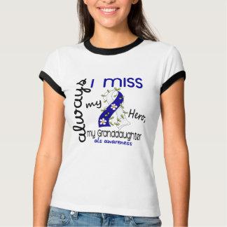 ALS Always I Miss My Granddaughter 3 T-Shirt