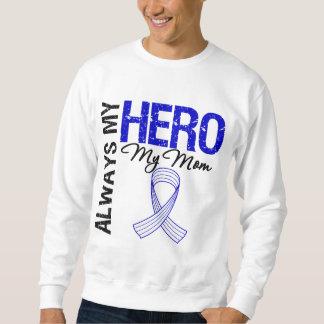 ALS Always My Hero My Mom Pullover Sweatshirt