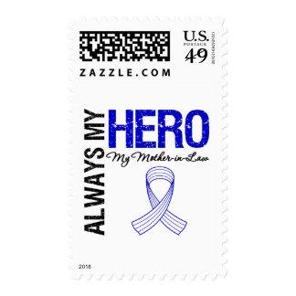 ALS Always My Hero My Mother-in-Law Stamp