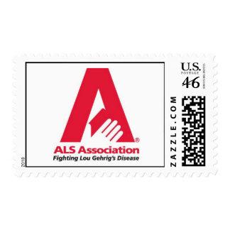 als_association_logo postage stamps