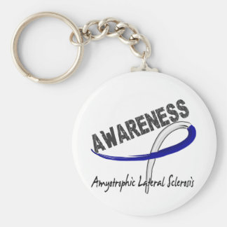 ALS Awareness 3 Keychain