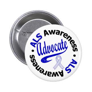 ALS Awareness ADVOCATE Button