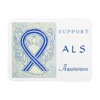 ALS Awareness Angel Custom Magnet