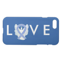 ALS Awareness Angel Ribbon Custom iPhone 7 Case