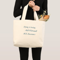 ALS Awareness bag