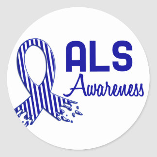 ALS Awareness Classic Round Sticker