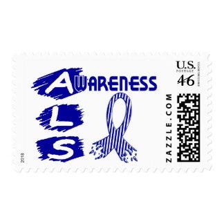 ALS Awareness F3 Postage Stamps