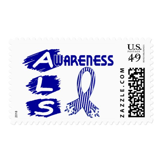 ALS Awareness F3 Postage