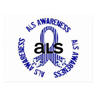 ALS Awareness F4 Postcard