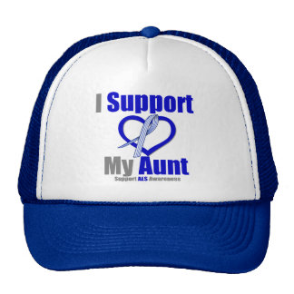 ALS Awareness I Support My Aunt Trucker Hat
