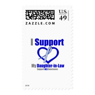 ALS Awareness I Support My Daughter-in-Law Stamp