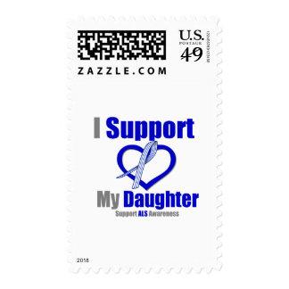 ALS Awareness I Support My Daughter Stamp