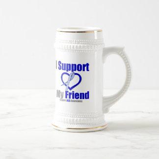 ALS Awareness I Support My Friend Coffee Mug
